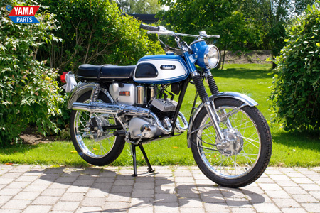 Yamaha AS1C Blue 1968
