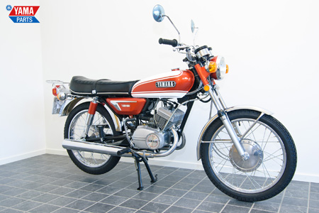 Yamaha AS3 Orange 1972