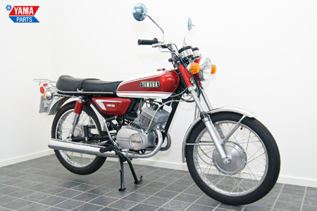 Yamaha AS3 Red 1971