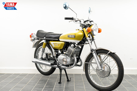 Yamaha AS3 Yellow 1971